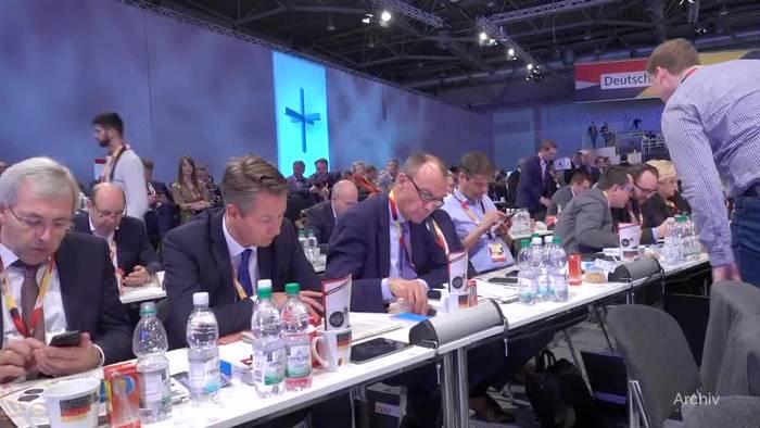 News video: Kreise: Merz will CDU-Vorsitzender werden