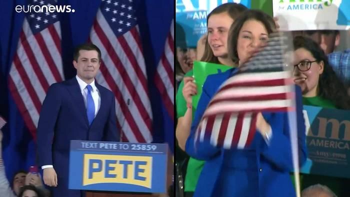 News video: Auch nach New Hampshire: Den Demokraten fehlt ein Favorit