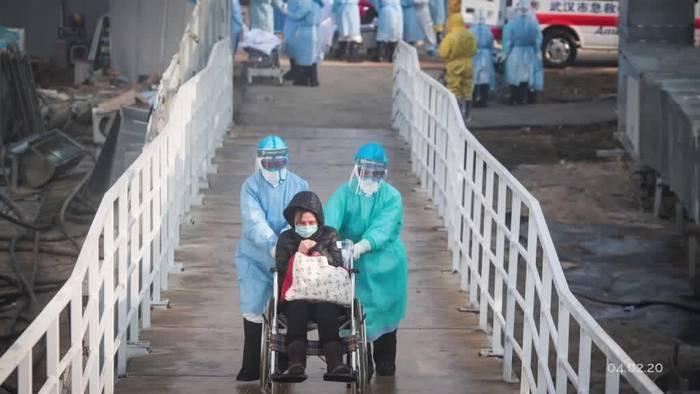 News video: Coronavirus: Zahl der Infizierten in China steigt sprunghaft