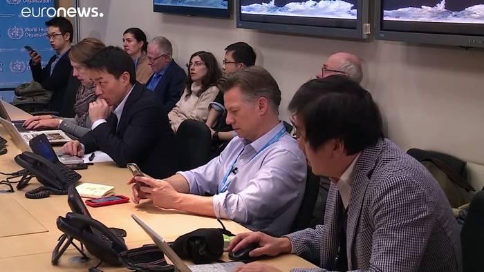 News video: WHO: Nicht jeden Tag 13.000 neue Corona-Fälle