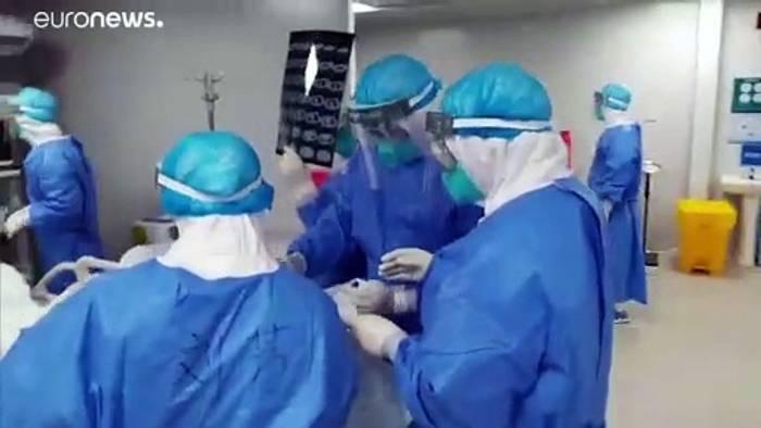 News video: Covid-19: Zahl der Fälle in China steigt weiter