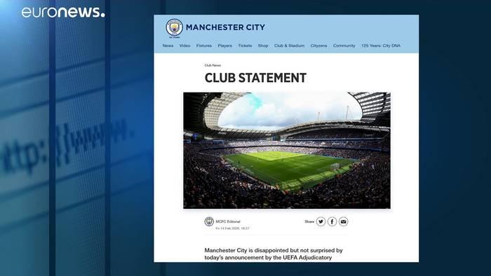 News video: Finanzbetrug: 2 Jahre Champions-League-Sperre für Manchester City