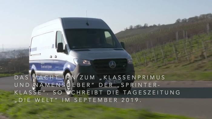 News video: 25 Jahre Mercedes-Benz Sprinter - der Champion seiner Klasse