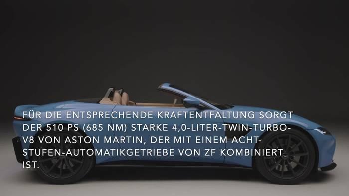 News video: Aston Martin Vantage Roadster - Kompromisslose leistung und emotion Pur