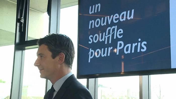 News video: Sexvideo: Macrons Kandidat für das Pariser Rathaus macht Rückzieher