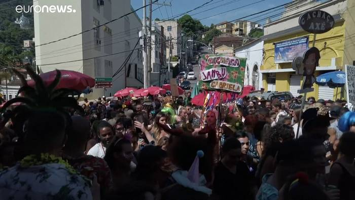 News video: Karneval in Brasilien, Italien und Tschechien