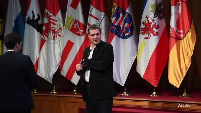 News video: Söder: CDU-Vorsitz das eine, Kanzlerkandidatur das andere