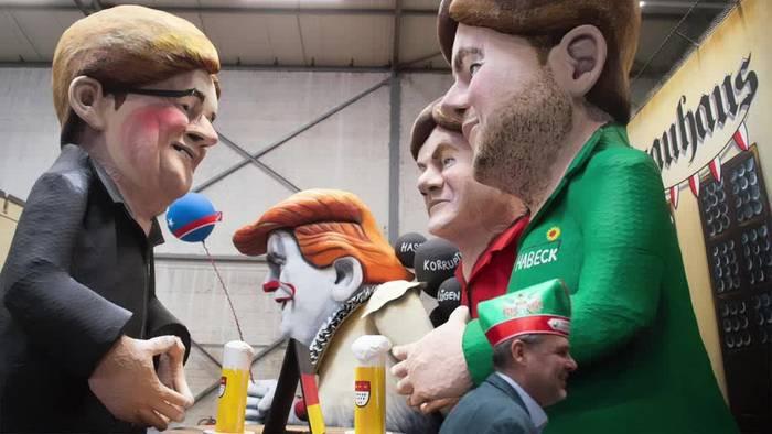 News video: Motivwagen im Kölner Karneval vorgestellt