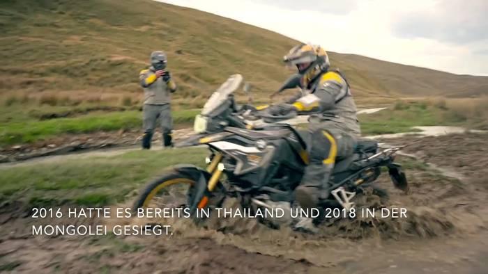 News video: BMW Motorrad International GS Trophy Ozeanien 2020 - Tag 8.Schlusstag. Südafrika gewinnt zum dritten Mal!