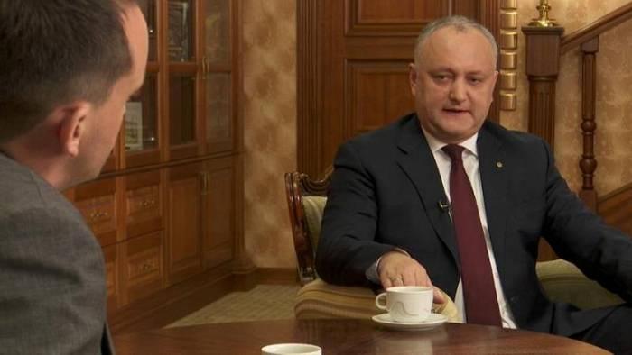 News video: Moldaus Präsident Dodon: Botschafter