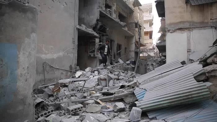 News video: Bomben, Kälte, Hunger: Syrien vor neuem Flüchtlingsdrama