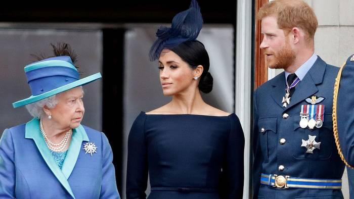 News video: Rückschlag für Harry und Meghan: Die Queen verbietet ihnen die lukrative Nutzung ihres Namens