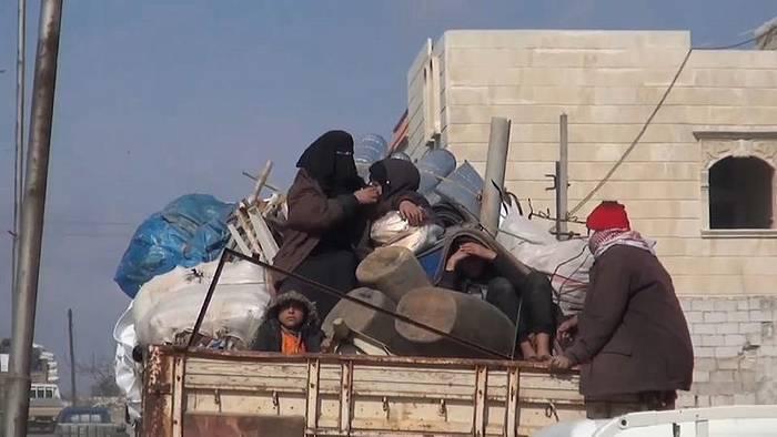 News video: Syrien: 900.000 Menschen auf der Flucht