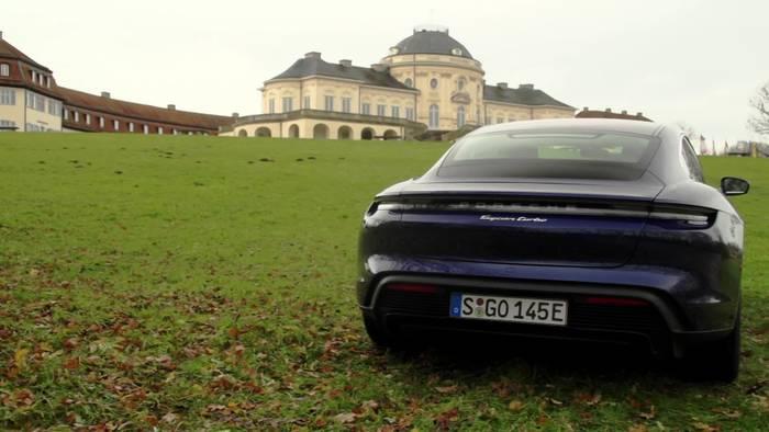 News video: Porsche Taycan Turbo Überblick