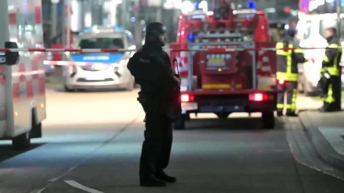 News video: Gewalttat in Hanau: Ermittlungen wegen Terrorverdacht