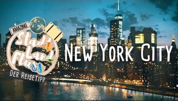 News video: Die heißesten Tipps für deinen New York City-Trip! // STADT LAND FLUSS - Der Reisetipp
