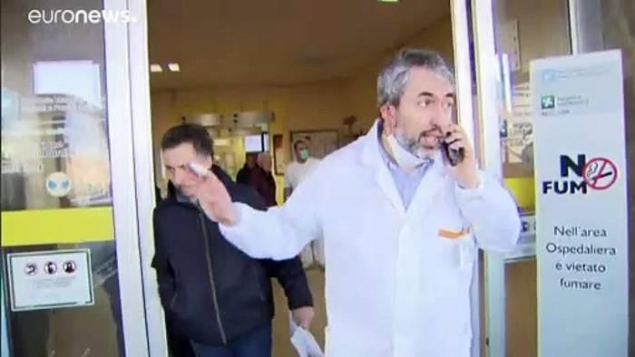 Video: Coronavirus-Alarm in Italien