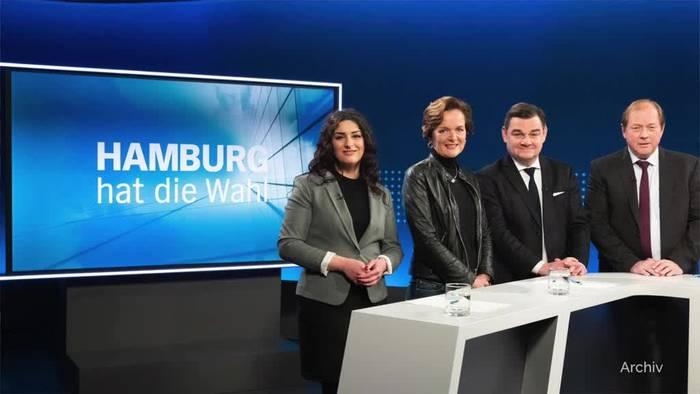 Video: Wahl in Hamburg - SPD und Grüne in Umfragen am stärksten