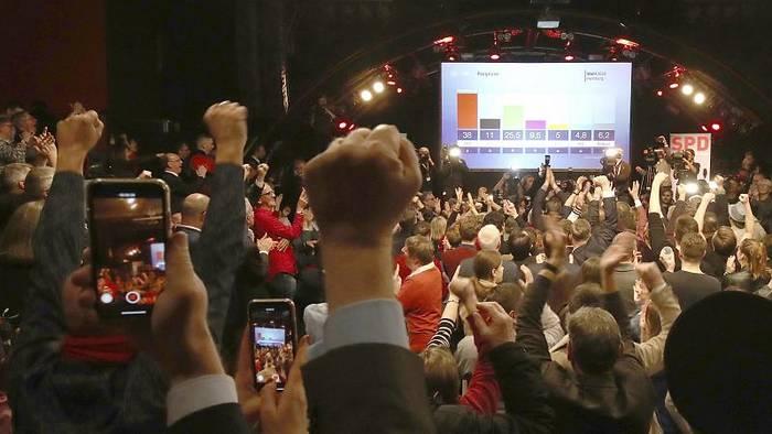 Video: SPD und Grüne regieren in Hamburg weiter: CDU, FDP und AfD stürzen ab