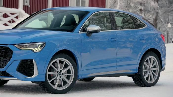 News video: Der neue Audi RS Q3 und der neue Audi RS Q3 Sportback - der Motor