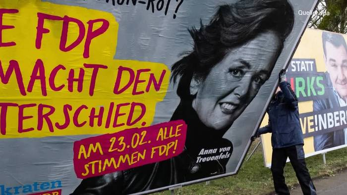 Video: Vorläufig amtliches Aus - FDP scheitert in Hamburg