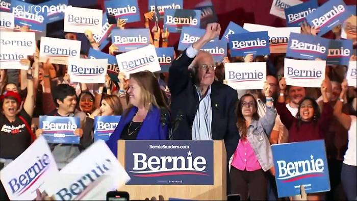 News video: US-Vorwahlen: Sanders gewinnt deutlich in Nevada