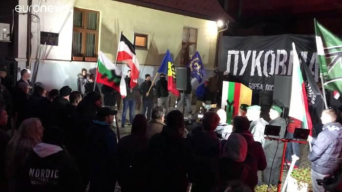 News video: Verbotener Lukow-Marsch: Neonazis aus ganz Europa in Sofia