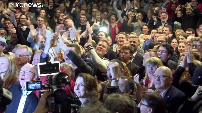News video: Hamburg-Wahl: Klare Mehrheit für Rot-Grün - FDP muss noch zittern