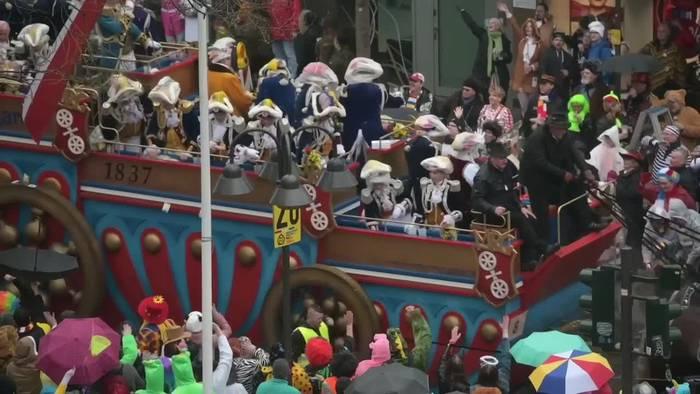 News video: Hunderttausende feiern Rosenmontag