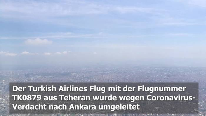 News video: Corona Virus: Turkish Airlines Flug nach Ankara umgeleitet!
