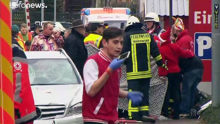 News video: 50 Verletzte und viele Fragen zu