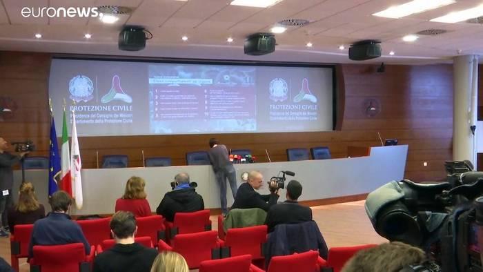 News video: Zahl der Coronavirus-Infizierten in Italien steigt stetig weiter