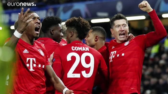 Video: Traumtore: Gegen Chelsea triumphieren die Bayern 0 : 3