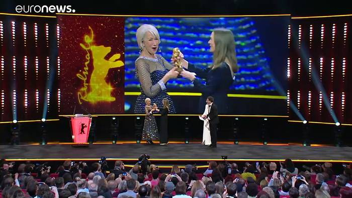 News video: Berlinale: Ehrenbär für Helen Mirren