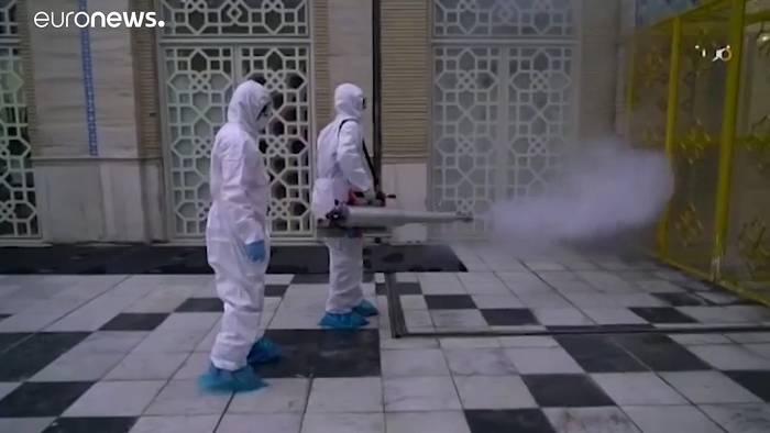 News video: Coronavirus: 34 Tote im Iran - massiver Anstieg an Infektionen