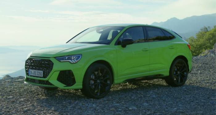 News video: Audi RS Q3 und Audi RS Q3 Sportback Athletisch - das Exterieur