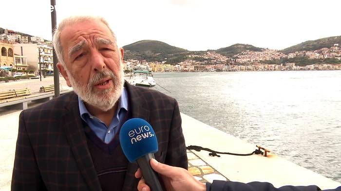 News video: Samos: Die Angst vor den Flüchtlingen