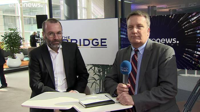 Video: Weber verlangt von Erdogan ein Ende der Eskalation