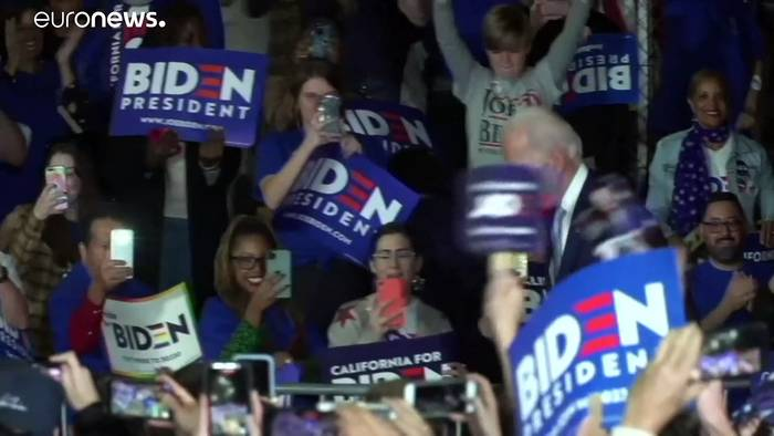 News video: Super Tuesday: Biden stellt Sanders-Triumph in Kalifornien in den Schatten