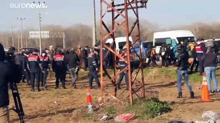 News video: Irrwege an türkisch-griechischer Grenze