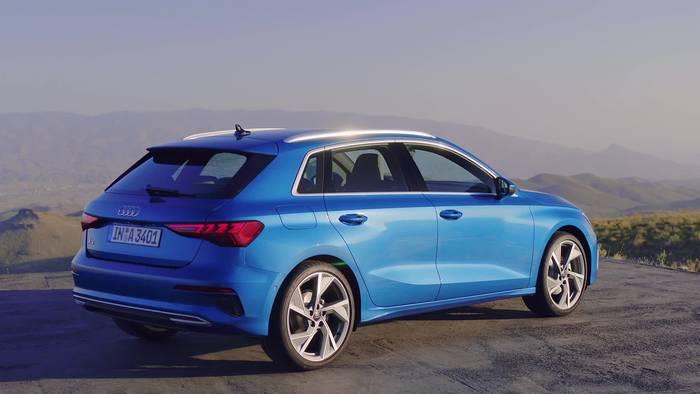 News video: Der neue Audi A3 Sportback - Design und Licht