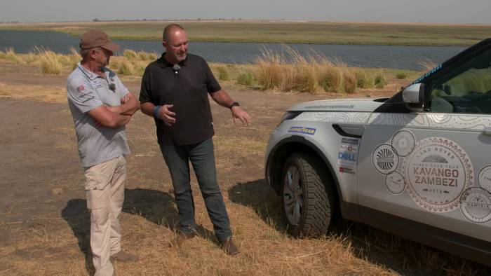 News video: Land Rover Experience 2019 - Im Discovery durch den Afrika