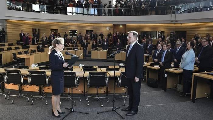 News video: Thüringen: Bodo Ramelow im dritten Wahlgang zum Ministerpräsidenten gewählt