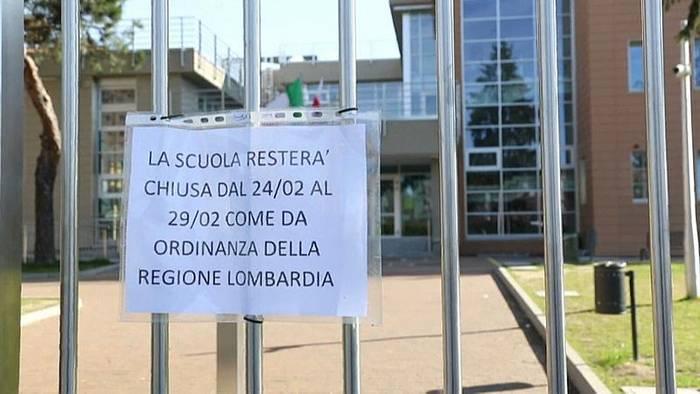 News video: Coronavirus in Italien: Zahl der Todesopfer steigt auf über 100