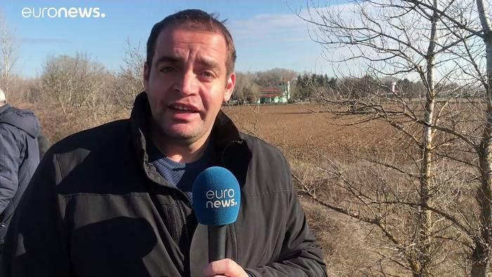 News video: Spannungen an der griechischen Grenze - Türkei setzt Tränegas ein