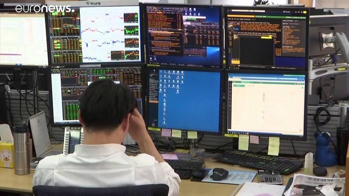 Video: Coronavirus zieht asiatische Börsen in den Keller