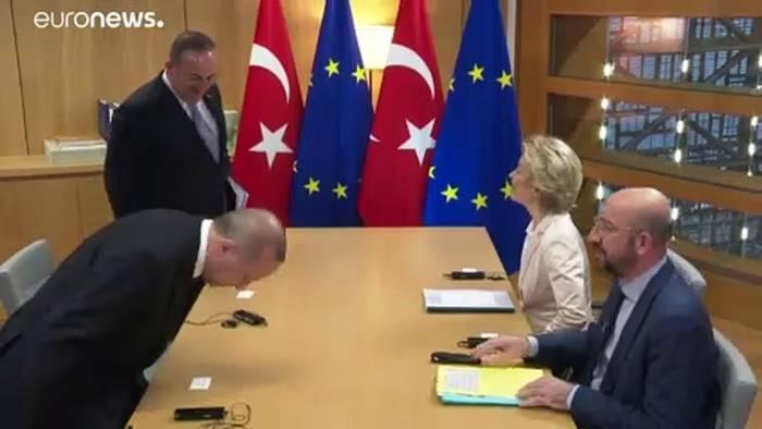 News video: Erdogan bei den EU-Spitzen: Suche nach Lösungen