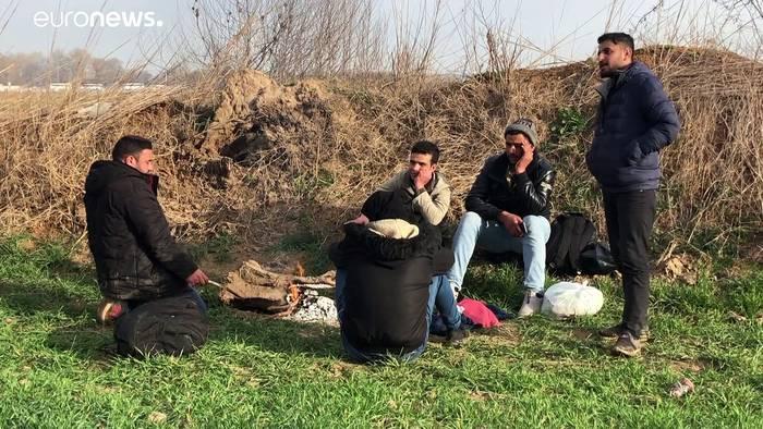 News video: Migrationskrise in der Türkei: Die Stunde der Schlepper
