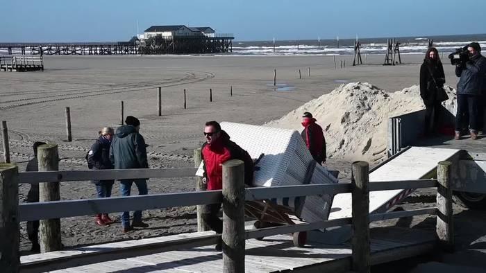News video: Nordsee: Die Strandkorb-Saison hat begonnen