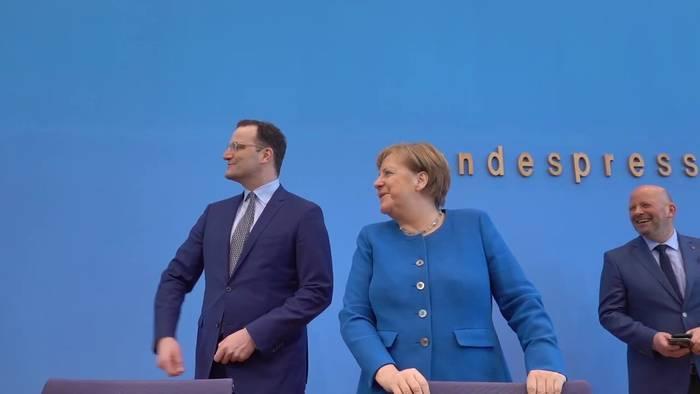 Video: Merkel ruft zu Solidarität in Corona-Krise auf